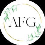 Audreythena-Food-Goddess-AFG-logo-text-inside-gold-ring