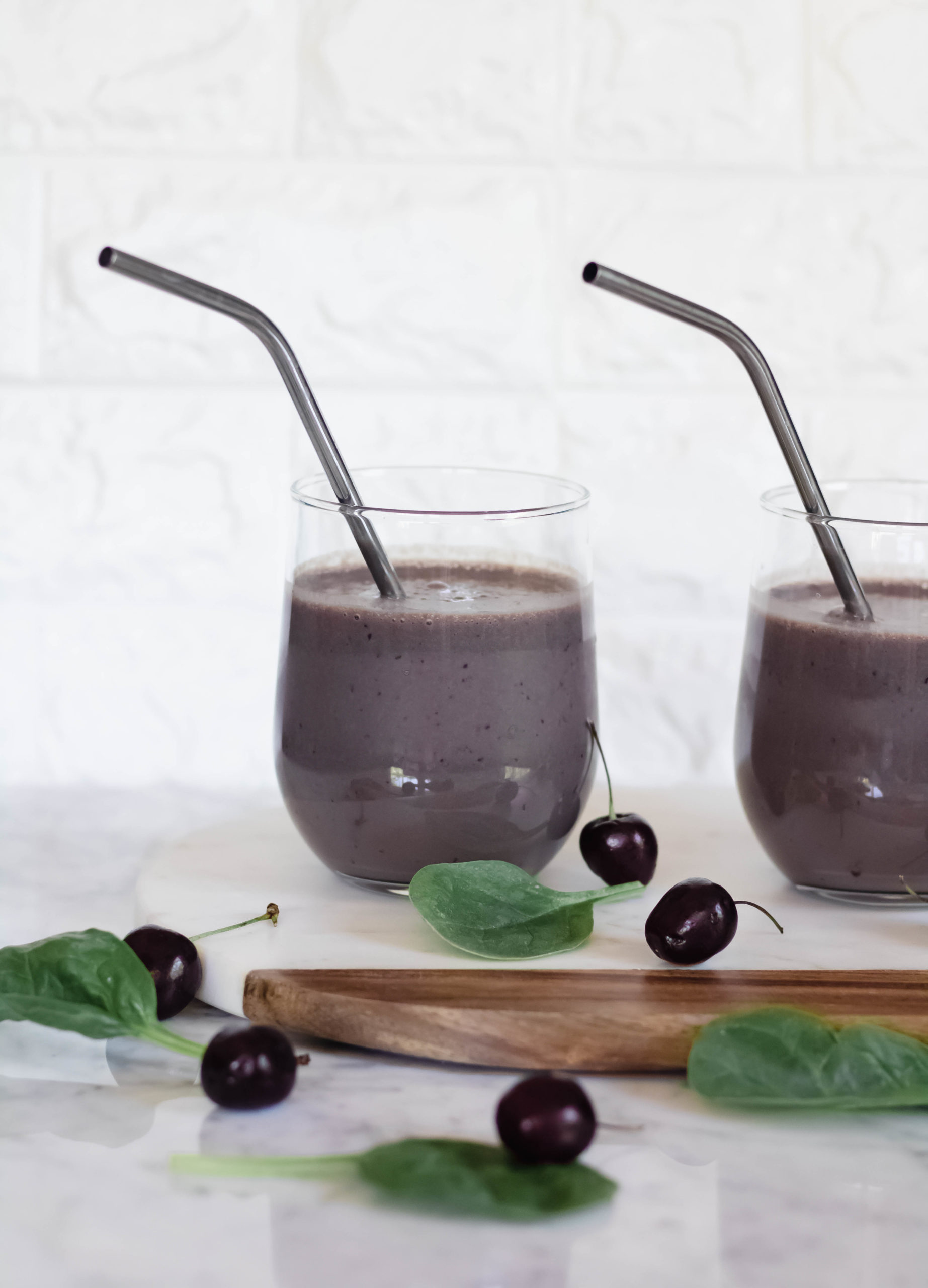Chocolate-protein-smoothie-in-8-oz-cups