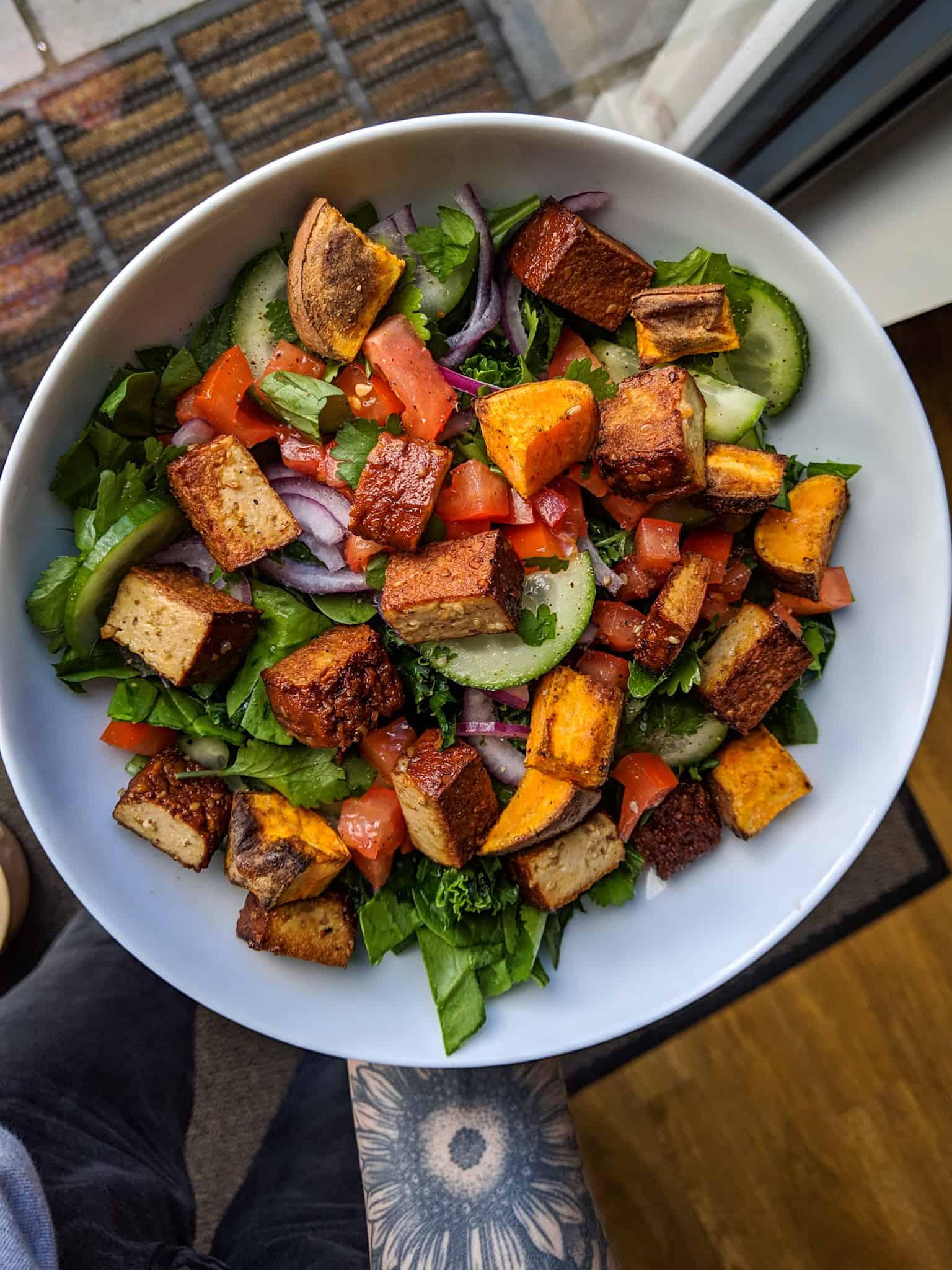 Summer-Salad-with-Tofu